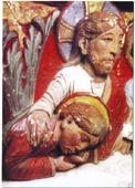 Christ chapiteau st nectaire